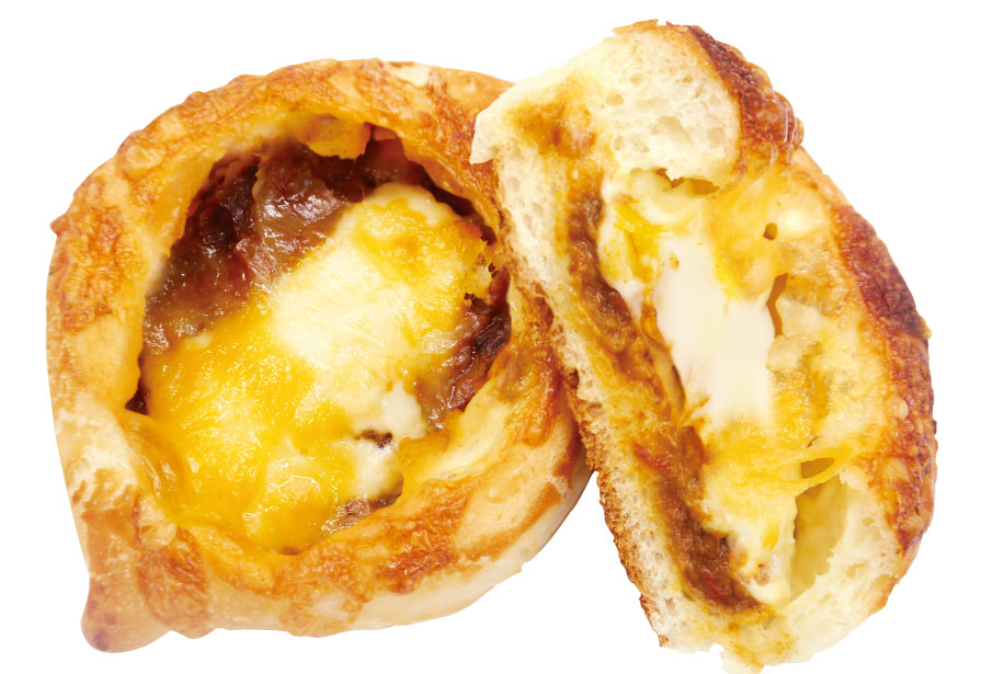 3種のチーズのビーフカレーパン